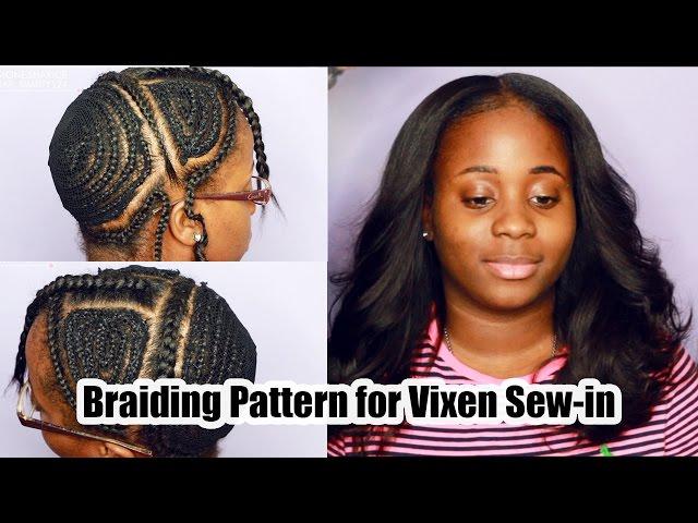 Vixen Sew In Weave Braiding Tutorial Vixen Sew In Tutorial Mp3