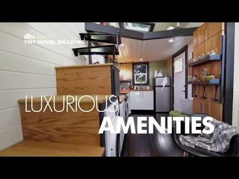 Video trailer för Luxurious Amenities | Tiny House, Big Living | HGTV Asia