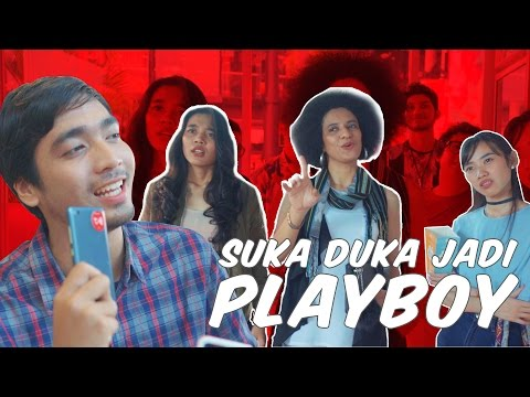 Video Suka Duka Jadi Playboy [Presented by Telkomsel TCASH]