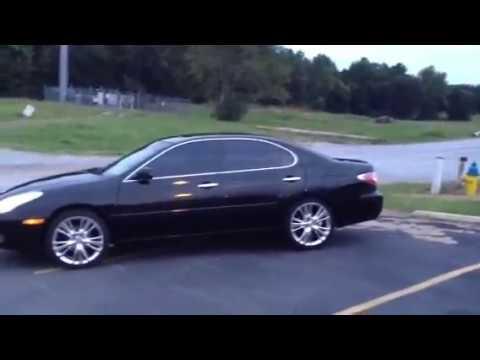 2003 Lexus ES330 ES300 with 19 inch OE Replica RX350 wheels