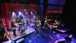 Theophilus London with Sara Quin - Why Even Try Live on Letterman
