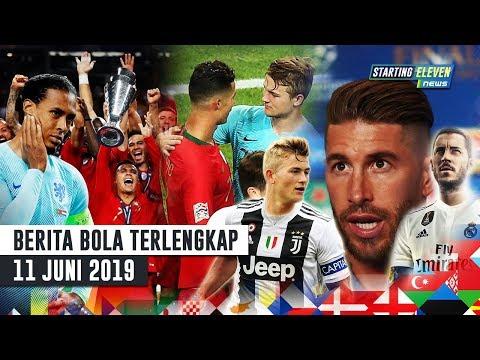 Portugal Juara Nations League 🏆 Komentar Ramos ke Hazard 😱 Ronaldo Minta De Ligt Ke Juve