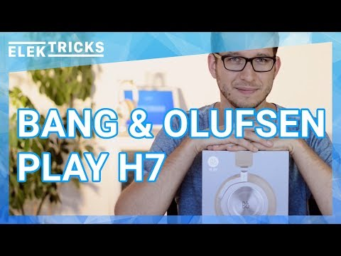 Bang & Olufsen B&O Play H7 kabellose Bluetooth Kopfhörer Test Review Deutsch #ElekTricks - Robin.tv