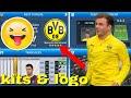 Dream League Soccer 2019 How To Import Borussia Dortmund Team Kits & Logo 2019/2020