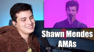 """Vocal Coach Reaction to Shawn Mendes' AMAs """"Lost in Japan"""" Performance"""