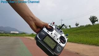 #22 Racing drone acro mode practice 레이싱 드론 아크로 모드 시계비행 연습