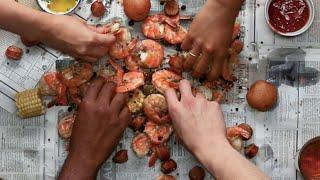 Homemade Shrimp Boil