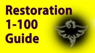 Restoration 1-100 Guide Skyrim Fastest way to level