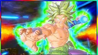 WHAT IF BROLY KNEW SUPER SAIYAN BLUE GOGETA'S ATTACKS? | Dragon Ball Xenoverse 2