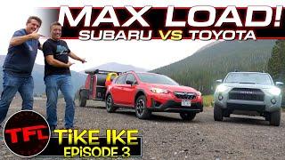 The Toyota 4Runner & Subaru Crosstrek Take on the World's TOUGHEST Towing Test!