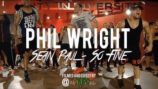 "Sean Paul - ""So Fine"" | Phil Wright Choreography | Ig : @phil_wright_"