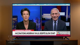 Dr. Fauci Is Finally Free To Do All The Shows
