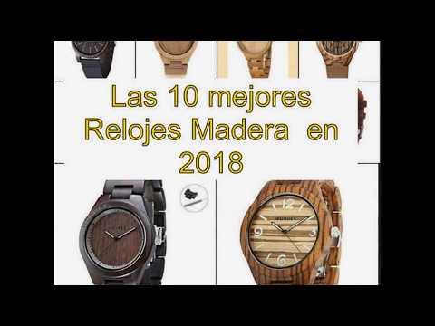 Las 10 mejores Relojes Madera  en 2018