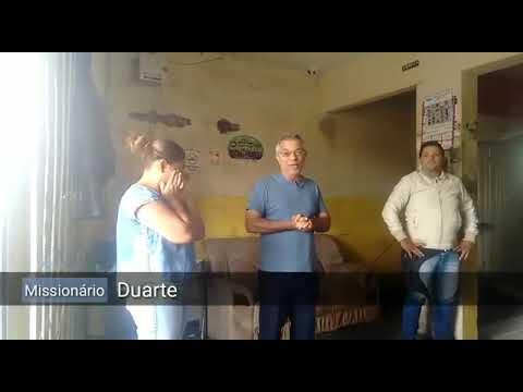 Missionário Duarte de Goiânia, Empresa Moto Taxi dez dez em ARAXÁ MG, cantando, pregando e orando...