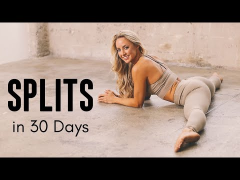How to Get the Splits in 30 Days | At Home Training Program ...