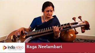 Raga Series: Raga Neelambari in Veena by Jayalakshmi Sekhar 001