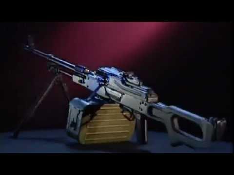 ПКМ - Пулемет Калашникова Модернизированный видео