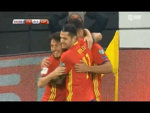 Italy vs Spain 1-1 All Goals And Highlights // World Cup 2018 Qualifiers // 720pHD
