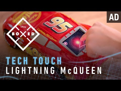 Tech Touch Lightning McQueen | BOXED | Disney