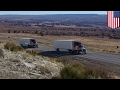 Platooning trucks to be introduced to US roads this year to save fuel an...