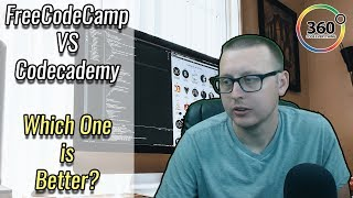 FreeCodeCamp vs CodeCademy | Which One is Better? Which One Should You Learn With? | Ask a Dev