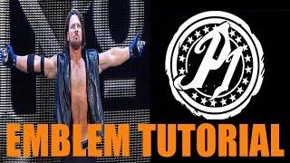 AJ Styles Phenomenal One - Black Ops 3 Emblem Tutorial