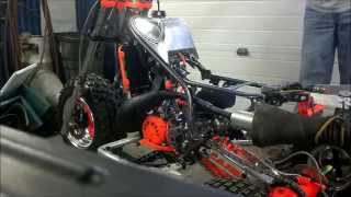 Klemm 350cc Tri Z   First Start!