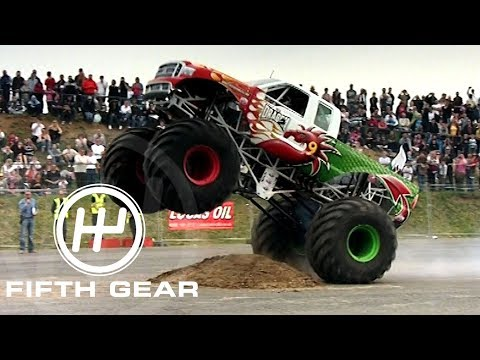 Fifth Gear: Monster Truck Obstacle Race