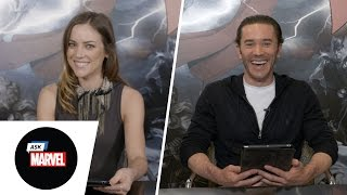 Ask Marvel: Iron Fist Cast, Jessica Stroup & Tom Pelphrey