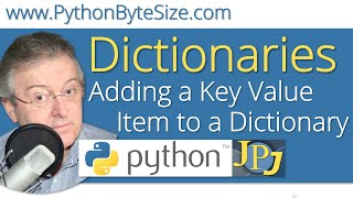 Adding a Key Value Item to a Python Dictionary