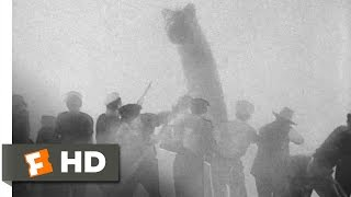 King Kong (1933) - Something in the Water Scene (2/10) | Movieclips