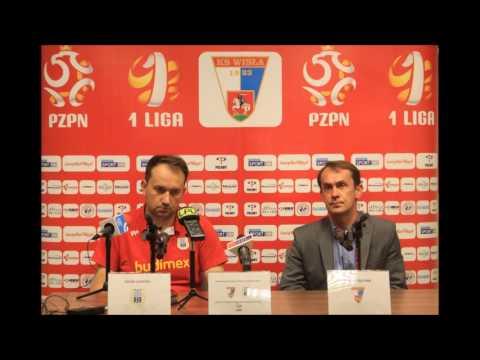 Konferencja prasowa po meczu Wisła Puławy - Stomil Olsztyn