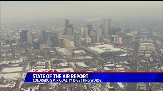 Colorado's air quality is getting worse with growing population, new report says
