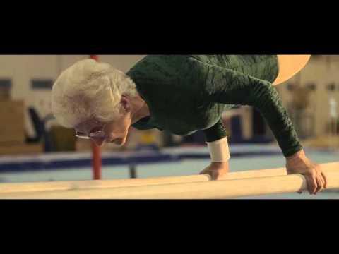 Amazing 90 year old gymnast Johanna Quaas