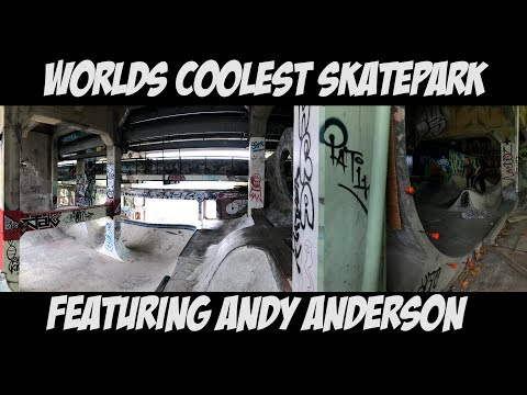 WORLDS COOLEST SKATEPARK Feat. ANDY ANDERSON VANCOUVER TRIP Pt 4. - NKA VIDS -