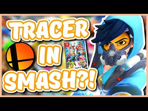 Overwatch - TRACER COMING TO SMASH BROS ULTIMATE?!