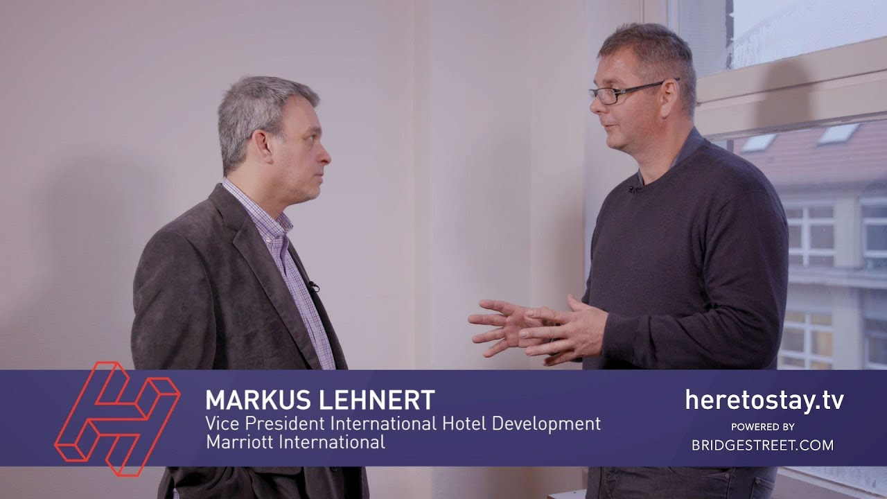 SAS RECHARGE 2019 interviews: Markus Lehnert, Marriott International