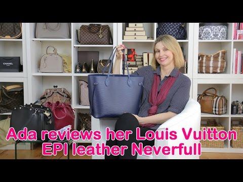 Ada discusses her Louis Vuitton EPI leather pieces
