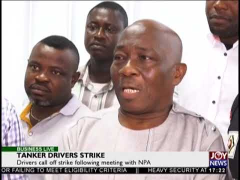 Drivers call off strike following meeting with NPA - Business Live on JoyNews (24-9-18)
