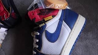 "Union Jordan 1 ""StormBlue/Blue Toe"" Quick Look"