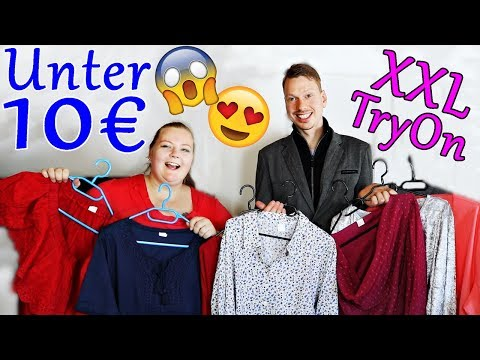 Klamotten UNTER 10 € 💸 XXL Fashion TryOn Haul 👗 PlusSize von SiehAn! | PrimaDina