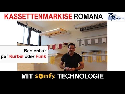 Kassettenmarkise Romana | Kassettenmarkisen | RolloRieper.de