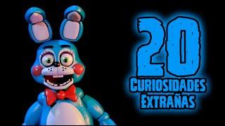 TOP 20: Las 20 Curiosidades Extrañas De Toy Bonnie De Five Nights At Freddy's   fnaf 2