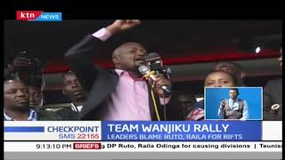 Ruto and Raila blamed for disunity in the country