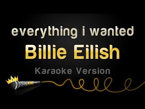 Billie Eilish - everything i wanted (Karaoke Version)