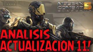 Análisis Actualización 11 para Modern Combat 5!