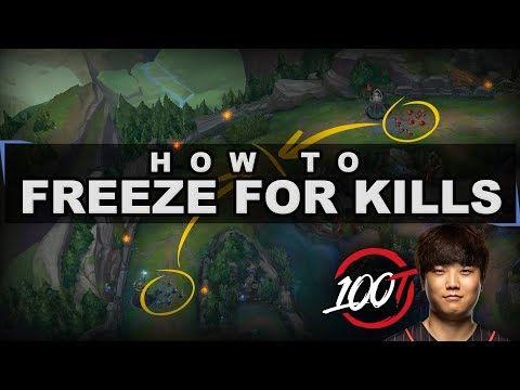 Make your opponent lose control by properly freezing and trading