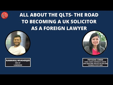 All about the QLTS- the road to becoming a UK solicitor as a foreign ...