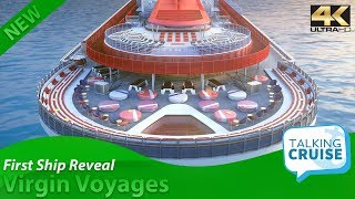 Virgin Voyages – First Reveal of Adult Only Cruise Ship - Video Youtube