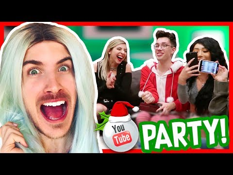 YOUTUBER CHRISTMAS PARTY 2017!